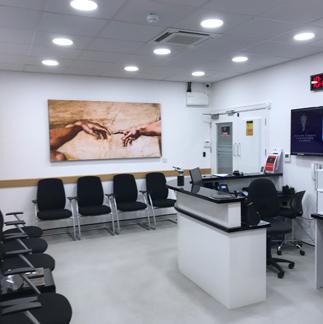 MyFootMedic Podiatry reception
